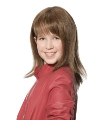 Kylie Small Human Hair Children's Wig, Dimples Bronze Collection - image aimee-bronze-wig-190x243 on https://purewigs.com