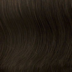 Special Effect Human Hair Top Piece Raquel Welch UK Collection - image 4-DARK-BROWN-MAIN on https://purewigs.com